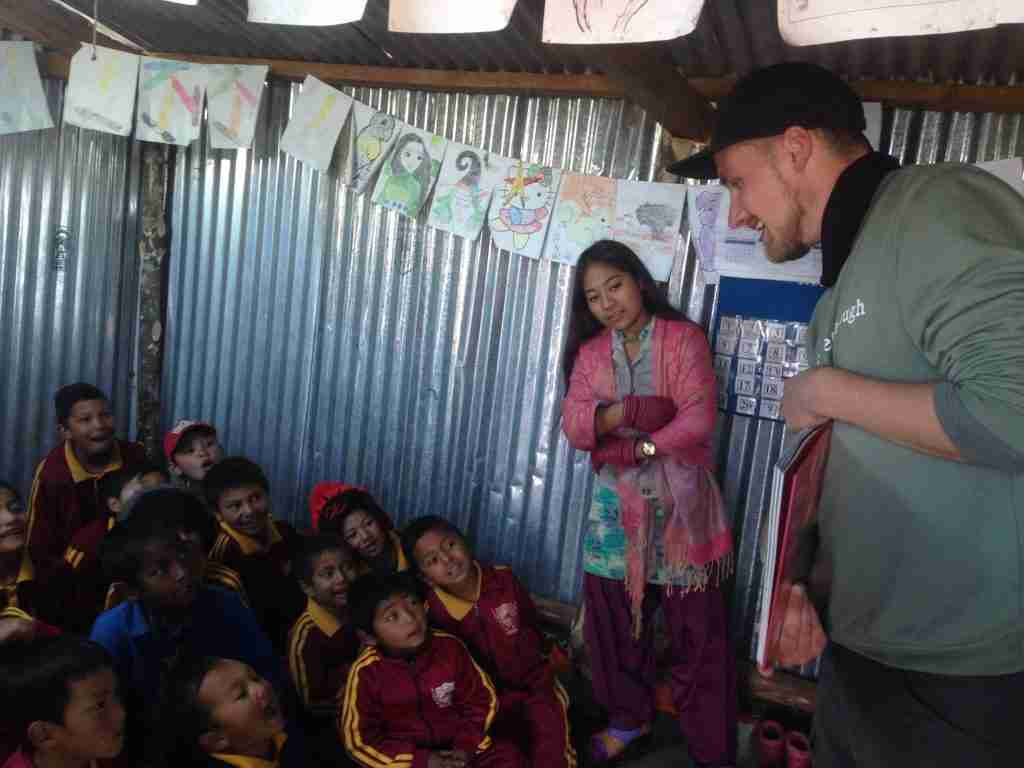 2018 Dion teaching Sailung Nepal