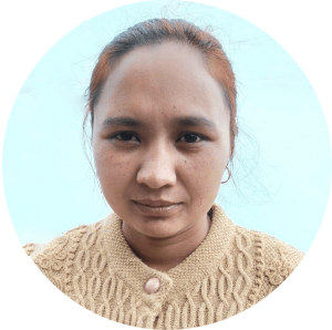 Mina_Shresta_Board_Member_Kids_learning_English_School_Ton_Memorial_School_Sailung_Nepal