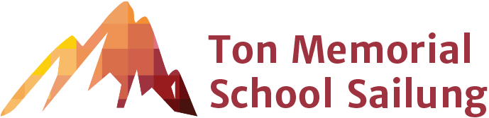 Site-Logo Ton Memorial School Sailung Farbige Landschaft