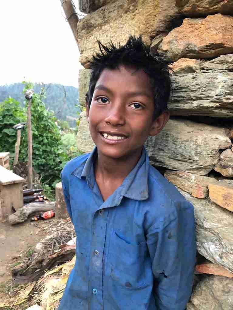 Sponsor kid Sailung Shantos Bishwo