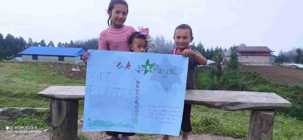 Sailung kids thank you RHDHV