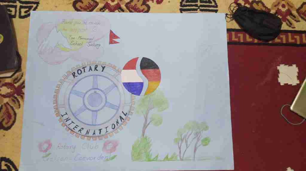 Drawing Rotary Uelsen Coevorden 1