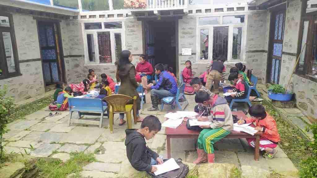 mehr Kinder zeichnen Sailung Children Day