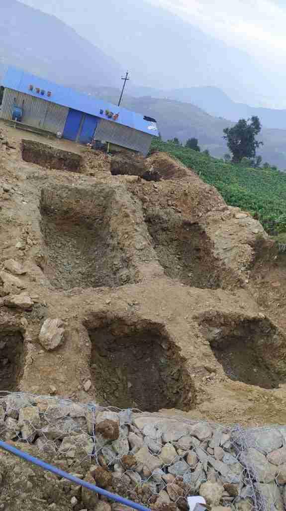 foundation holes
